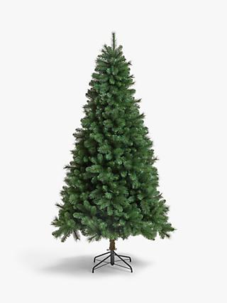 John Lewis & Partners Fireside Unlit Christmas Tree, 7ft