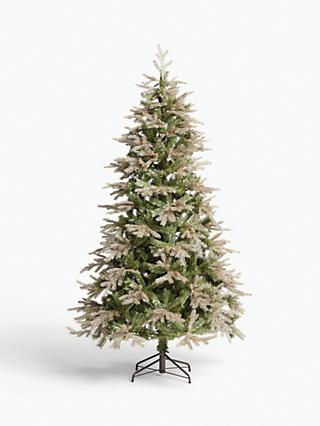 John Lewis & Partners Gabriel Gold Unlit Christmas Tree, 7ft