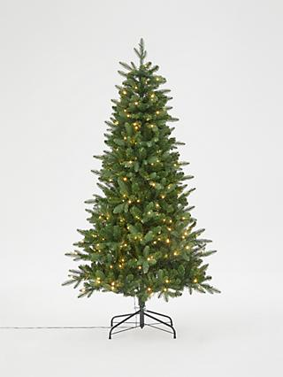 John Lewis & Partners Newington Pre-lit Christmas Tree, 6ft