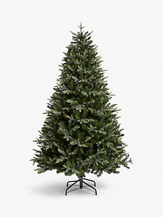 John Lewis & Partners Belgravia Pre-lit Christmas Tree, 7ft