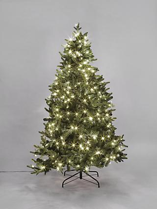 John Lewis & Partners Belgravia Pre-Lit Christmas Tree, 6ft