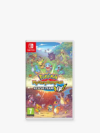 Pokemon Mystery Dungeon Rescue Team DX, Switch