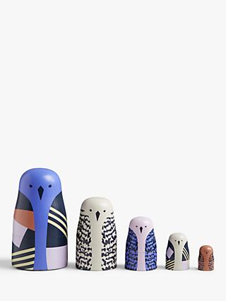 John Lewis & Partners Bird Russian Dolls