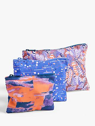 John Lewis & Partners Travel Pouches, Set of 3