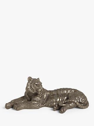 Frith Sculpture Bengal Tiger by Mitko Kavrikov, Gold