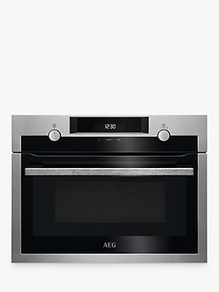 AEG KME525800M Built-In Microwave, Stainless Steel