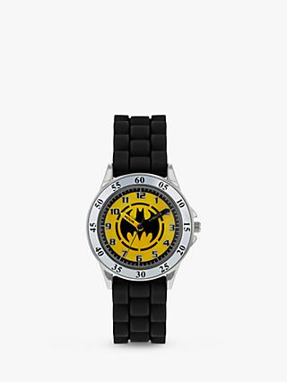 Disney Batman BAT9522 Children's Plastic Strap Watch, Black/Multi