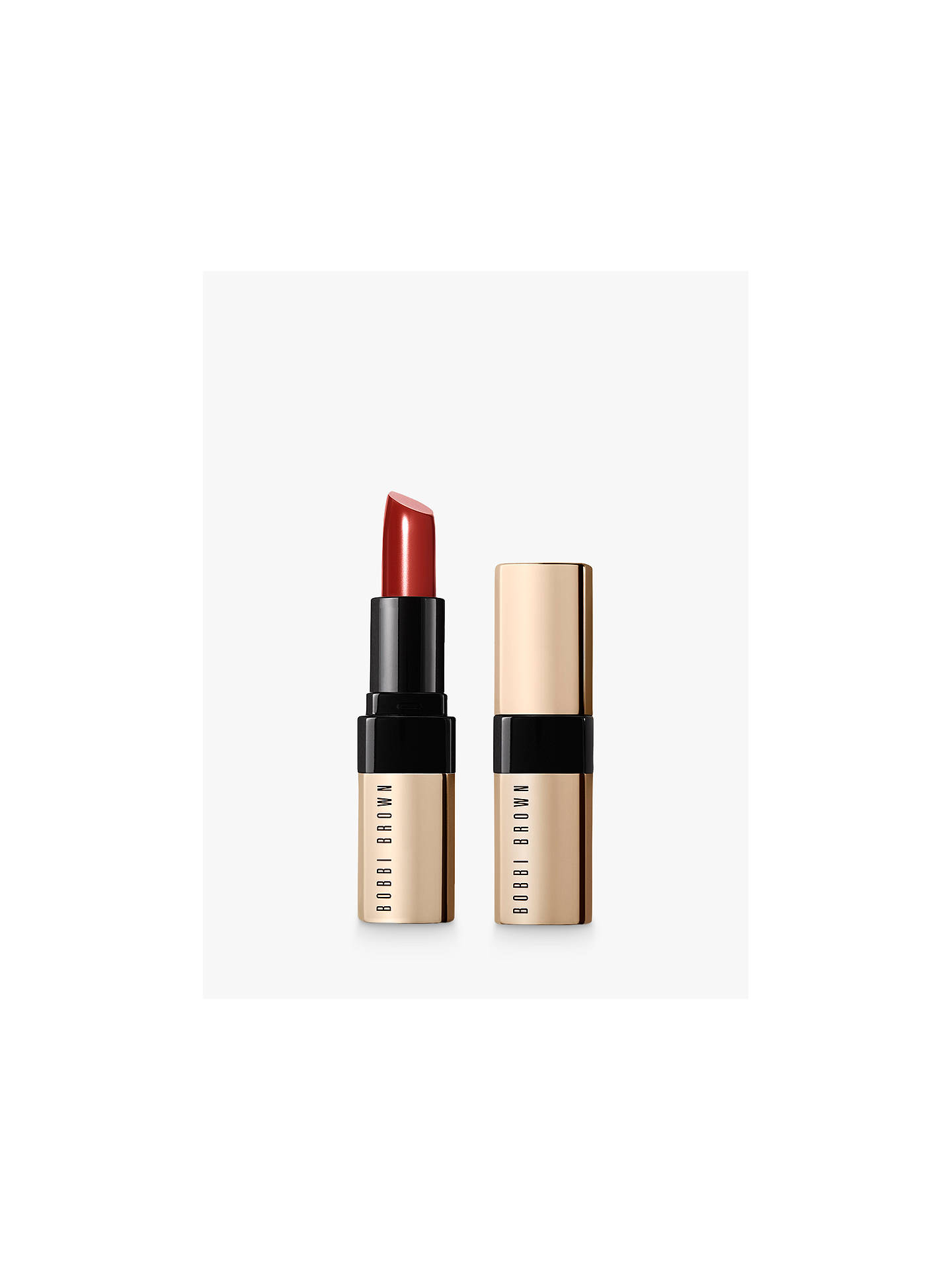 Buy Bobbi Brown Luxe Lip Colour, New York Sunset Online at johnlewis.com