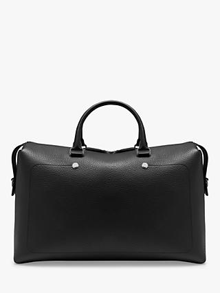 Mulberry City Heavy Grain Leather Weekender Bag