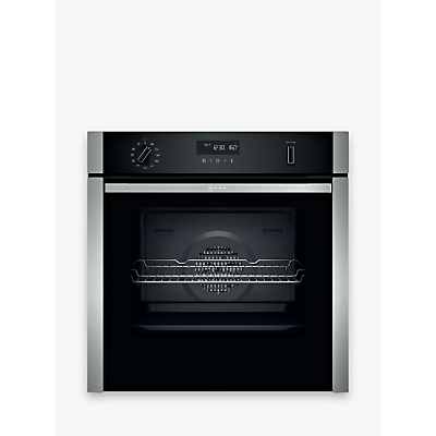 Image of Neff B6ACH7HH0B Slide and Hide Pyrolytic Built-In Smart Single Oven, Stainless Steel
