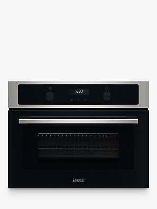 Zanussi ZVENM7X1 Built-In Microwave Oven, Stainless Steel