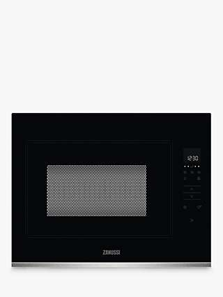 Zanussi ZMBN4SX Built-In Microwave Oven, Black