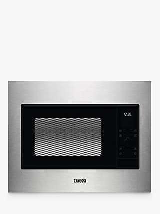 Zanussi ZMSN4CX Built-In Microwave Oven, Stainless Steel
