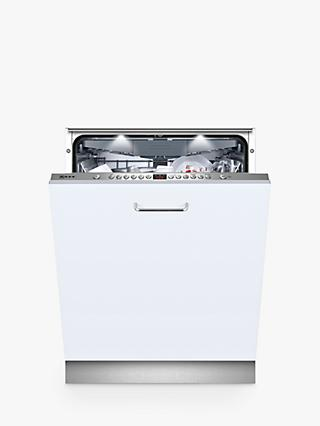 Neff S513N60X1G N50 Built-In Dishwasher, A++ Energy Rating, Silver