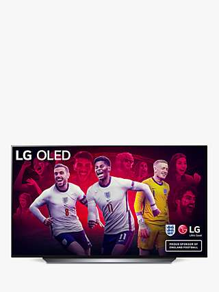 LG OLED77CX6LA (2020) OLED HDR 4K Ultra HD Smart TV, 77 inch with Freeview HD/Freesat HD, Dolby Atmos Sound & Alpine Stand, Dark Silver