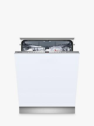 Neff N 50 S713N60X1G Integrated Dishwasher, A++ Energy Rating, Silver