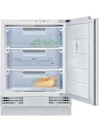 Neff G4344XFF0G Integrated Freezer, A+ Energy Rating, 60cm Wide, White