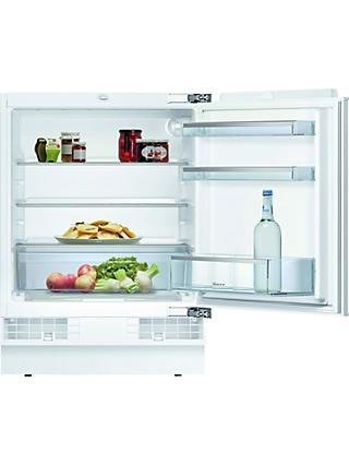 Neff K4316XFF0G Built-In Under Larder Fridge, A++ Energy Rating, 60cm Wide, White