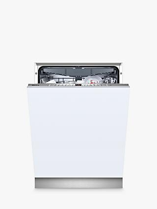Neff N 50 S723N60X1G Integrated Dishwasher, A++ Energy Rating, Stainless Steel