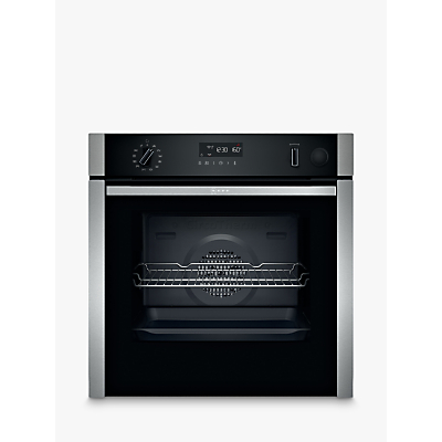 Image of Neff B4AVH1AH0B Slide and Hide Built-In Smart Electric Single Oven, Stainless Steel