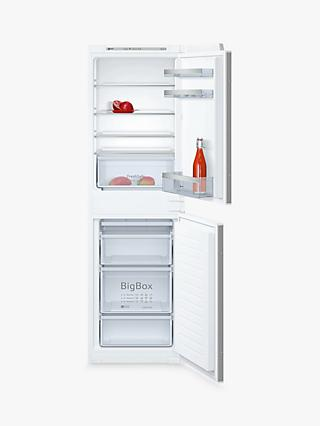 Neff KI5852SF0G Integrated Fridge Freezer, A++ Energy Rating, 54.1cm Wide, White