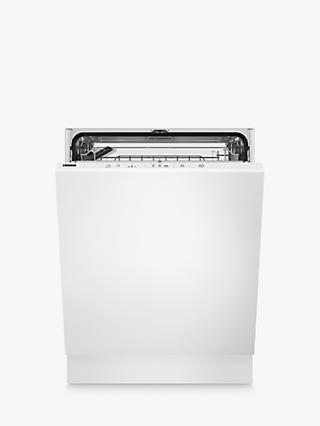 Zanussi ZDT24004FA Integrated Dishwasher, A++ Energy Rating, Silver