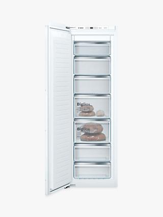 Bosch Serie 6 GIN81AEF0G Built-In Freezer, A++ Energy Rating, White