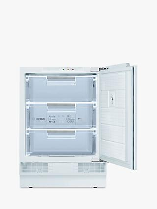 Bosch GUD15AFF0G Integrated Undercounter Freezer, A+ Energy Rating, 60cm Wide