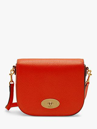 Mulberry Small Darley Classic Grain Leather Satchel Bag
