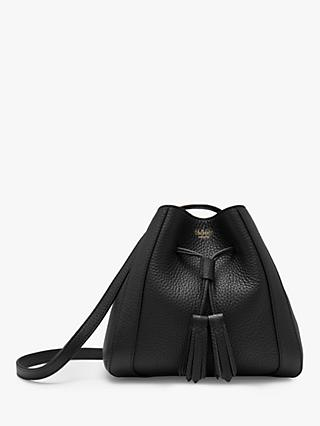 Mulberry Mini Millie Heavy Grain Leather Tote Bag