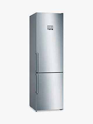 Bosch Serie 6 KGN39HIEP Freestanding 70/30 Fridge Freezer, Stainless Steel Effect