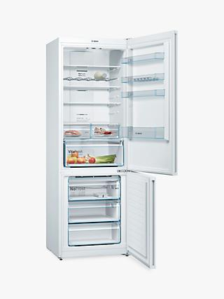 Bosch Serie 4 KGN49XWEA Freestanding 70/30 Fridge Freezer, White