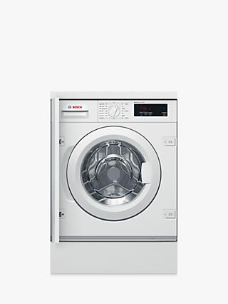 Bosch WIW28301GB Integrated Washing Machine, 8kg Load, 1400rpm Spin, White