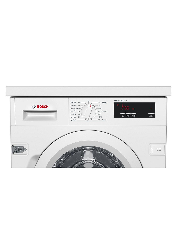 Bosch WIW28301GB Integrated Washing Machine, 8kg Load ...