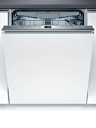 Bosch Serie 6 SMV68ND02G Integrated Dishwasher, Stainless Steel