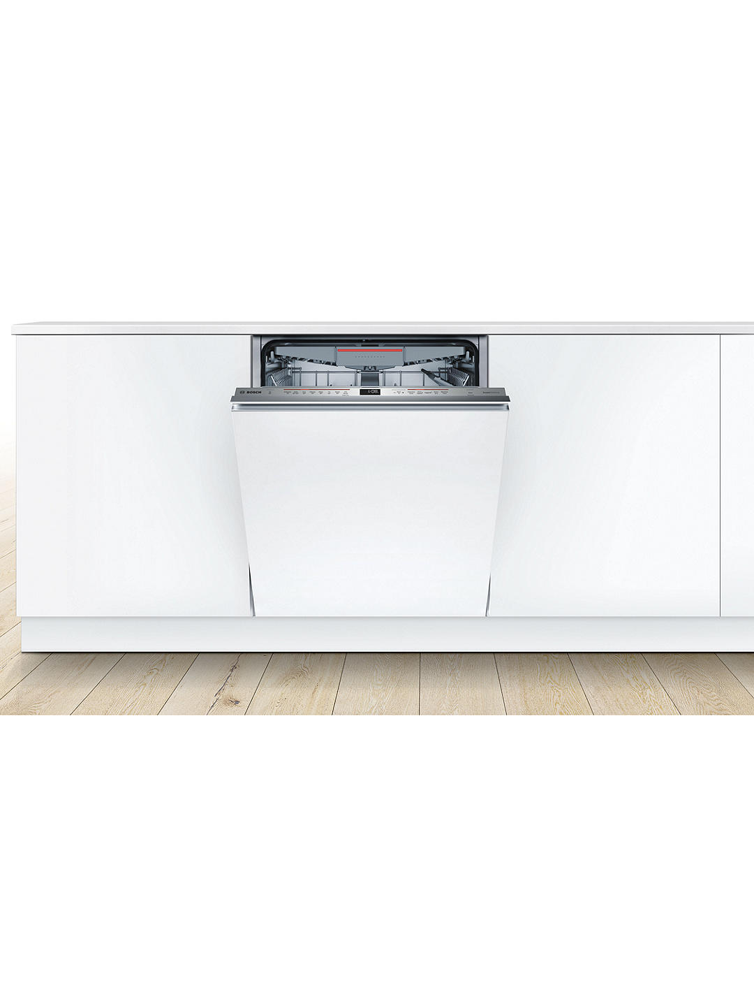Buy Bosch Serie 6 SMV68ND02G Integrated Dishwasher, Stainless Steel Online at johnlewis.com