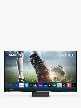 Samsung QE65Q95T (2020) QLED HDR 2000 4K Ultra HD Smart TV, 65 inch with TVPlus/Freesat HD, Black