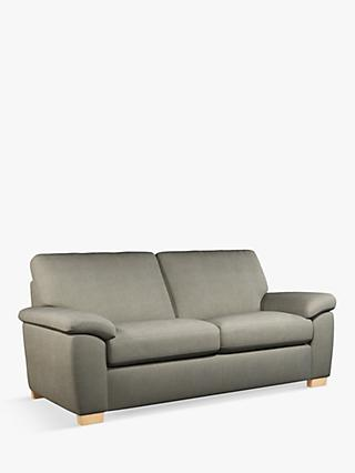 Camden Range, John Lewis & Partners Camden Large 3 Seater Sofa, Light Leg, Erin Grey