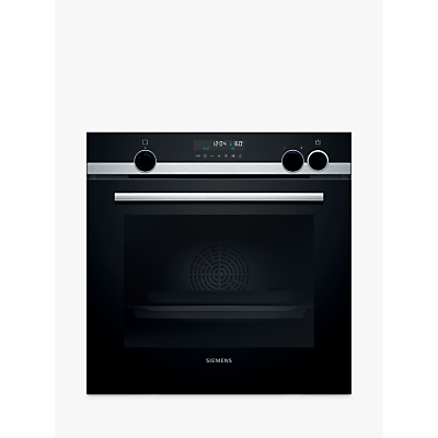 Siemens HR578G5S6B Built-In Single Electric Oven, A Energy Rating, Stainless Steel