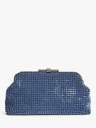 Reiss Adaline Embellished Clutch Bag