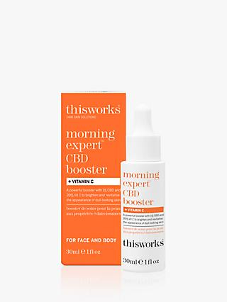 This Works Morning Expert CBD Booster Vitamin C, 30ml