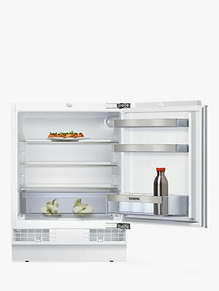 Siemens KU15RAFF0G Integrated Undercounter Larder Fridge, A++ Energy Rating, 60cm Wide