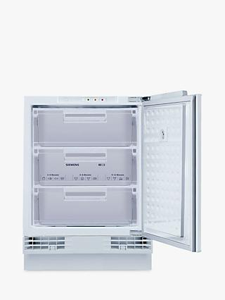 Siemens GUD15DAFF0G Integrated Undercounter Freezer, A+ Energy Rating, 60cm Wide