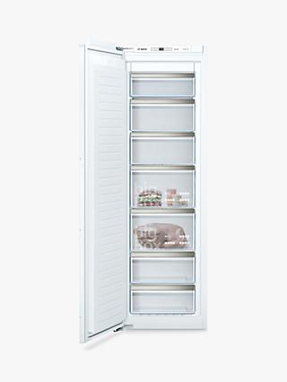 Siemens iQ500 GI81NAEF0G Integrated Tall Freezer, A++ Energy Rating, 56cm Wide, White