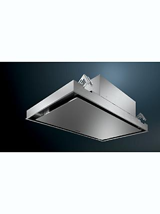 Siemens iQ500 LR96CAQ50B 90cm Ceiling Cooker Hood, B Energy Rating, Stainless Steel