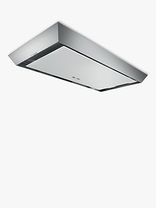 Siemens iQ500 LR97CAP21B 90cm Built-In Ceiling Cooker Hood, B Energy Rating, Stainless Steel