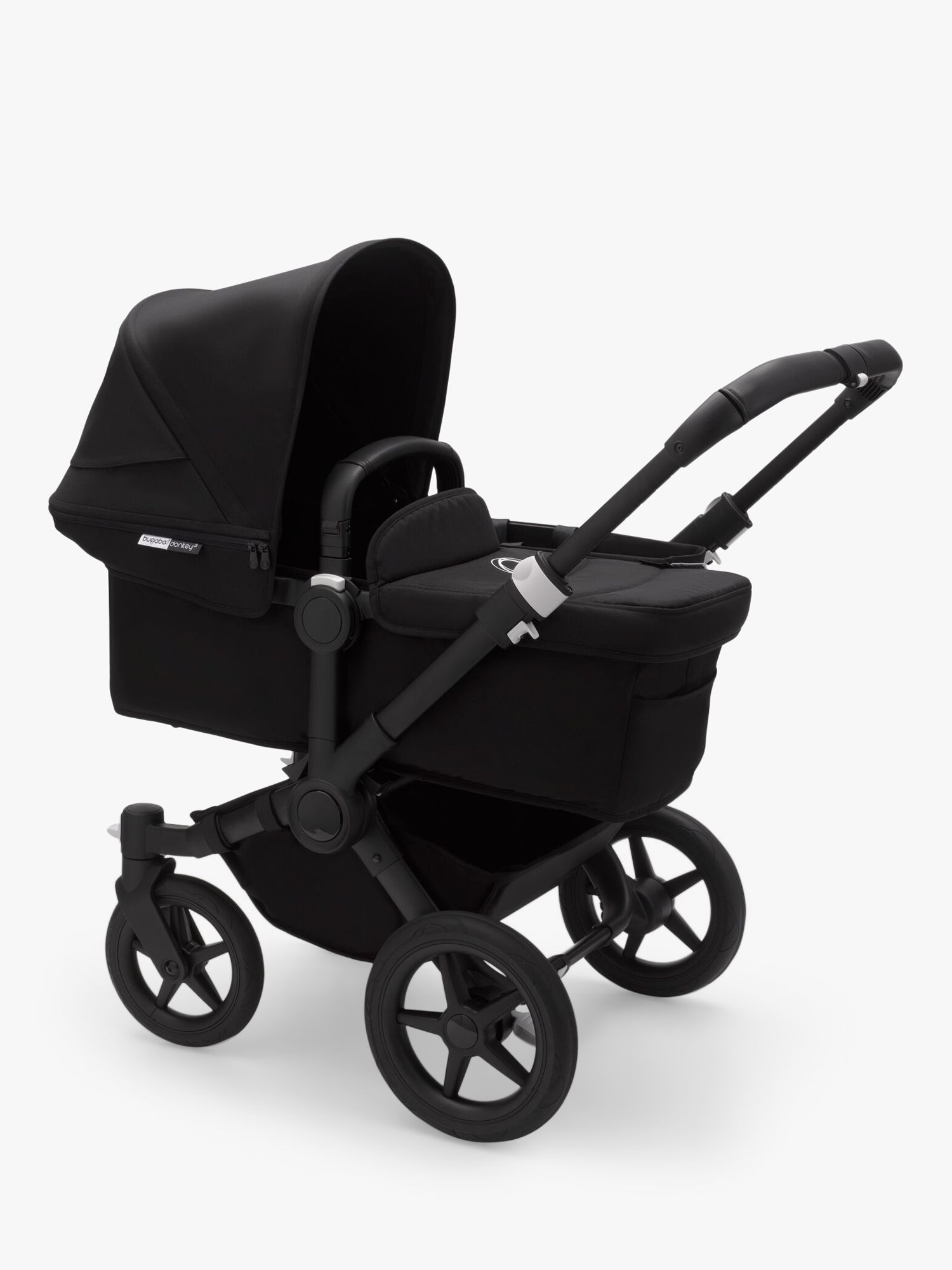 Bugaboo Donkey3 Mono Pushchair and Carrycot, Black