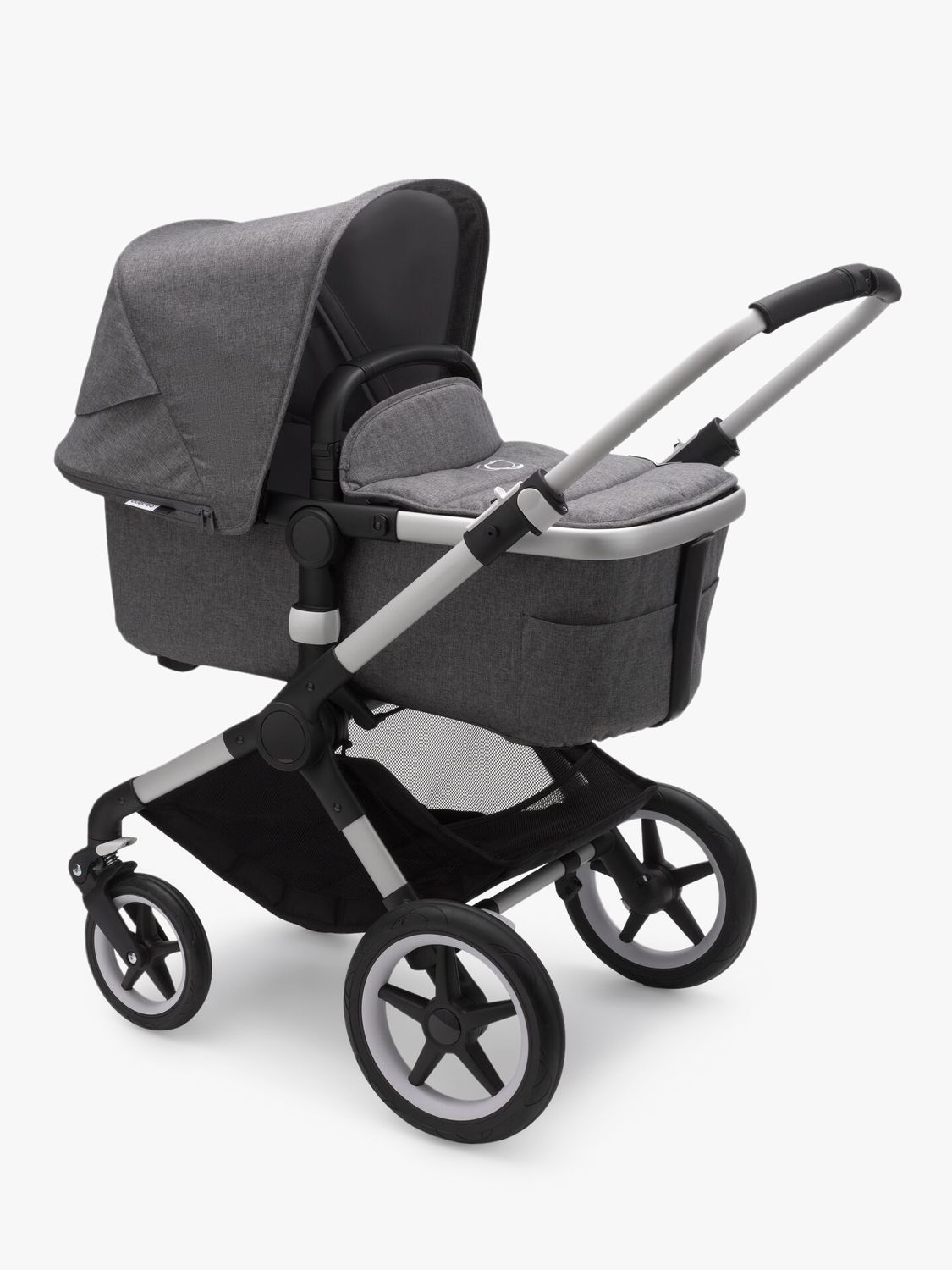 Bugaboo Fox2 Pushchair and Carrycot, Grey Melange