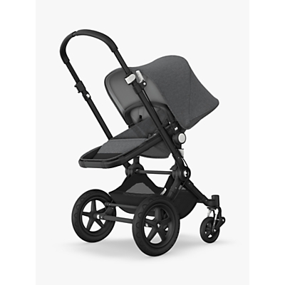 Bugaboo Cameleon3 Plus Pushchair, Black/Grey Melange