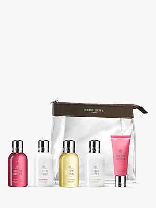 Molton Brown The Enticing Wanderer Carry On Bag Bodycare Gift Set